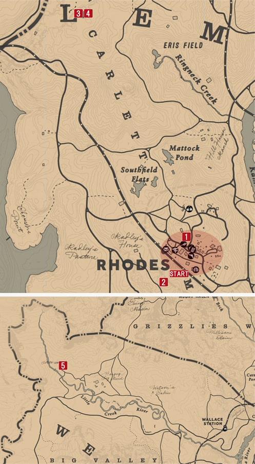 繋がれた俺達の発生場所のマップ