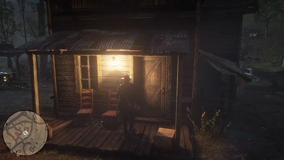 ミッションを受けれるオベダイアの小屋