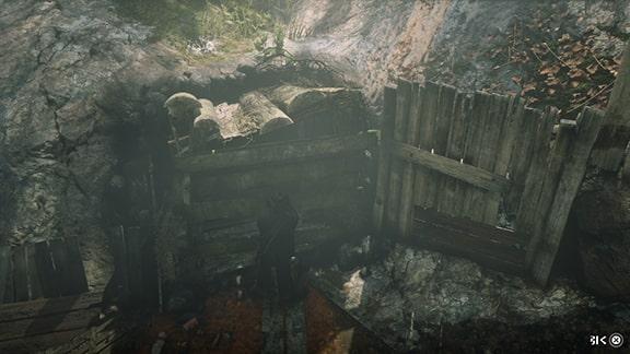鉱山の入口の画像