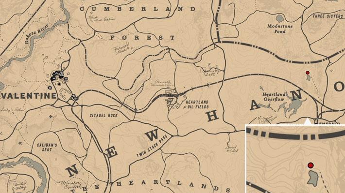 UFOの出現場所のマップ