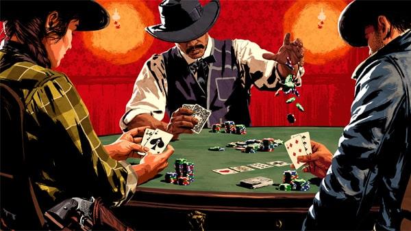 レッドデッドオンラインのポーカー