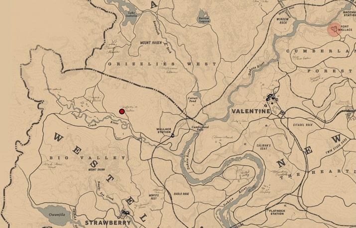 Watson's Cabinのマップ