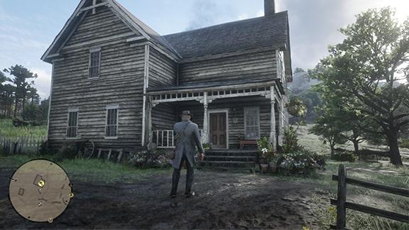 メアリーの家