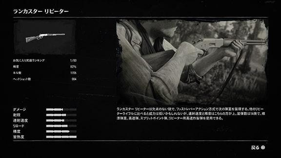ランカスターリピーターの武器データ画像