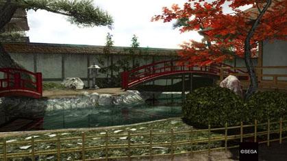 吟柳道場の日本庭園
