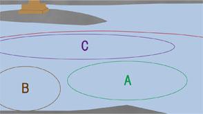 川釣り(鴨川)のマップ