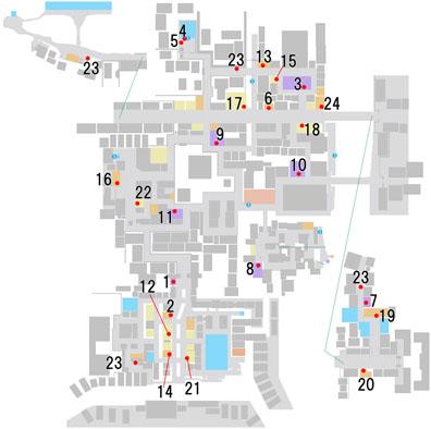 絆の交流(店舗)のマップ