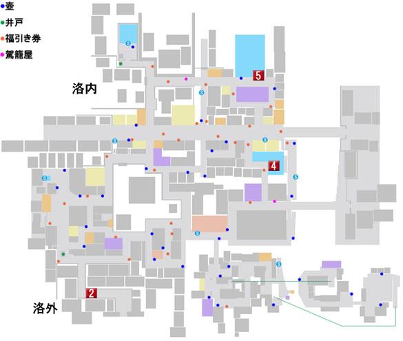 第六章 池田屋事件のマップ
