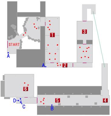 千石邸のマップ