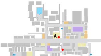 No.12『はらぺこ力士』のマップ