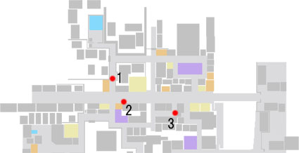 No.2『神様 仏様 恵比寿様』のマップ