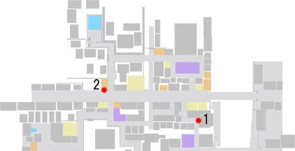 No.3『芸術的な接待』のマップ