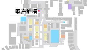 歌まる屋の場所のマップ