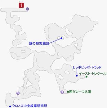 トレクール処刑塔の場所のマップ