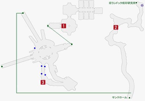 スターオーシャン5:サンテロール(リリアの消刻)のマップ