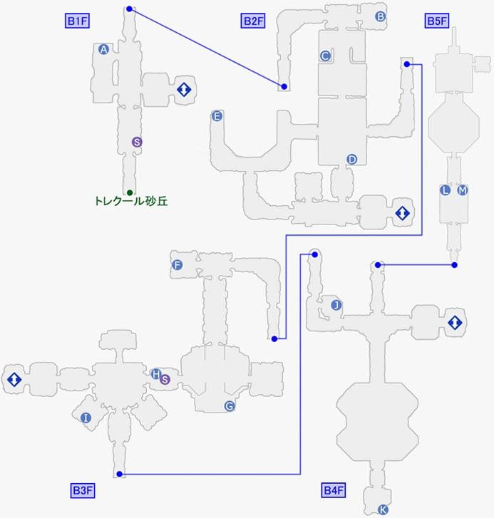 クロノス中央紋章研究所のマップ