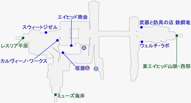 ミードックのマップ