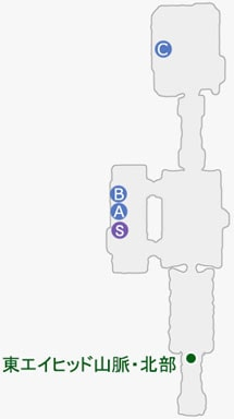 旧ランドック呪印研究所のマップ