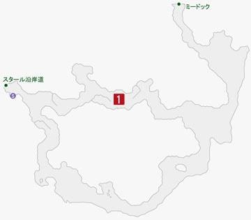 強欲のアヴァリティアの居場所のマップ