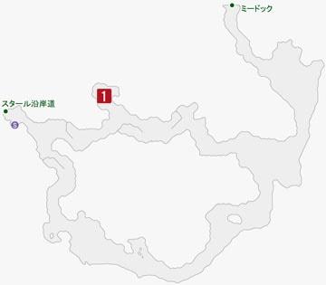 老練なるナプトの居場所のマップ