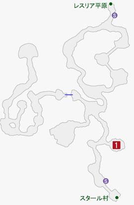 堅牢なるシェルダの居場所のマップ