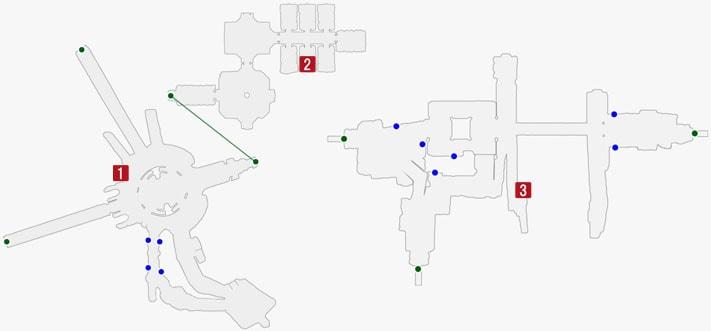 ラドルの居場所のマップ
