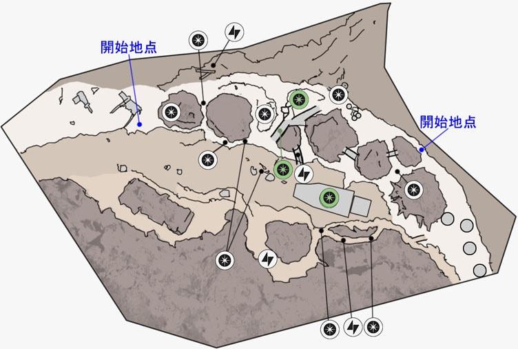 ブラストのジャワの拠点のマップ