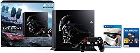 The Star Wars Limited Edition PlayStation 4
