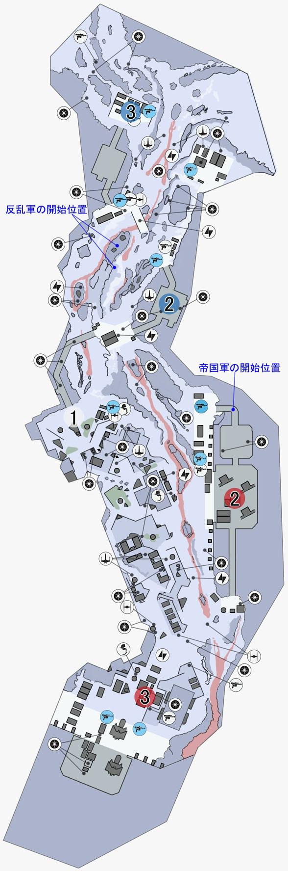 スプレマシーのソロスーブ本社施設のマップ