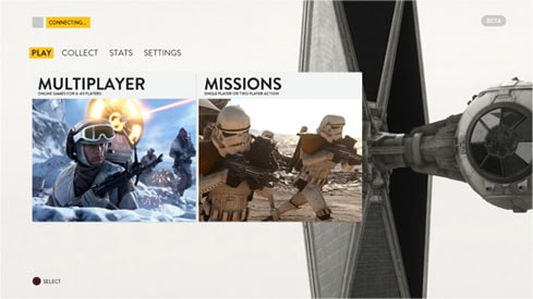 Star Warsバトルフロントのベータ
