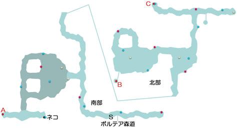 バイカール廃坑のマップ