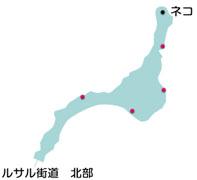 次元の裂けた丘のマップ
