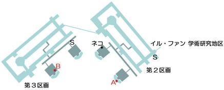 ラフォート研究所のマップ