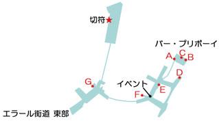 陰影の港 ドヴォールのマップ