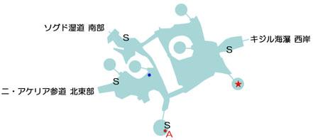 ニ・アケリアのマップ