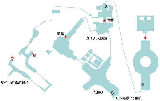分史世界のカン・バルクのマップ