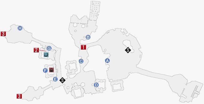 アリーシャエピソード-大樹の街マーリンドのマップ