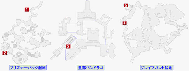 サブエピソードのマップ