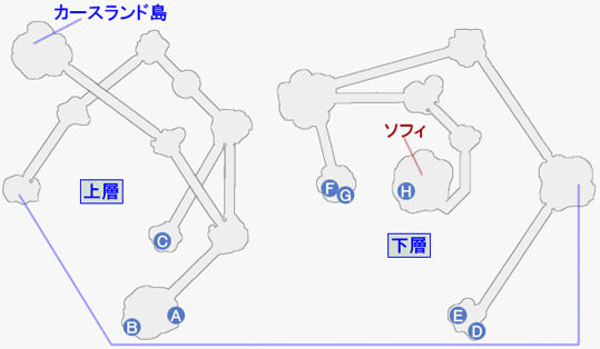ザ・カリスⅡの攻略マップ