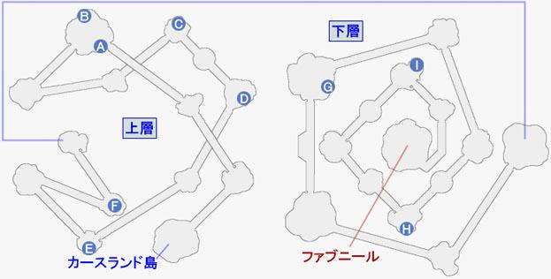 ザ・カリスⅦの攻略マップ