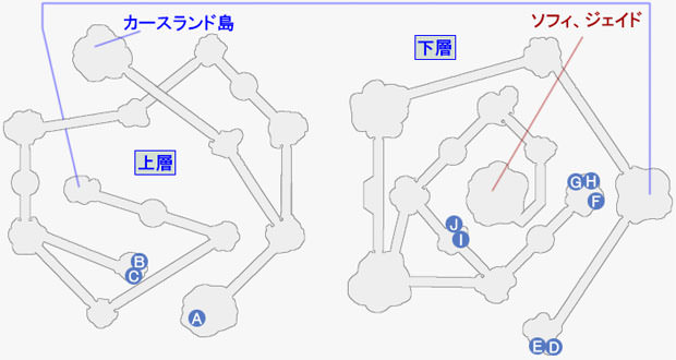 ザ・カリスⅧの攻略マップ