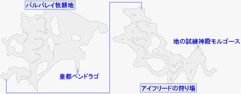地の試練神殿モルゴースへの行き方マップ