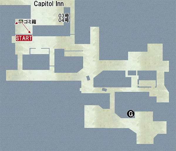 Map G:マーケットの場所