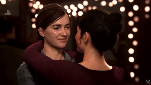 E3 2018で公開されたラストオブアス2のカットシーン