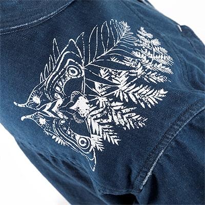 ラストオブアス2デザインのデニムジャケット