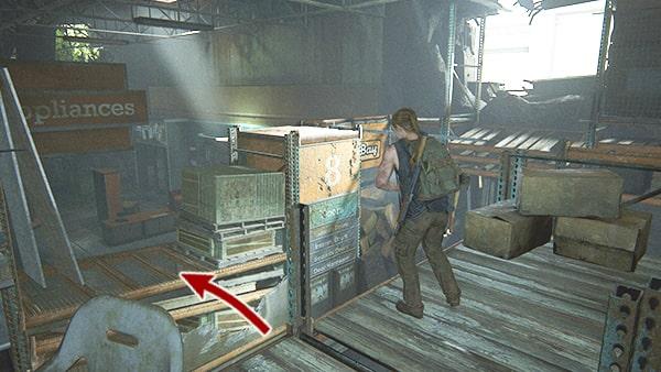 2階の光が出ている所の攻略ルートその2