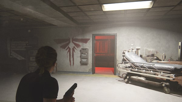 セントメリーズ病院の廊下の舞台