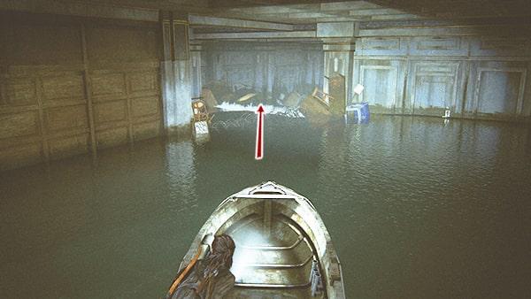 ボートで進む場所の攻略ルートその2