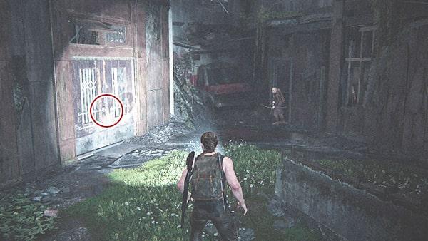 地下にあるドアの場所