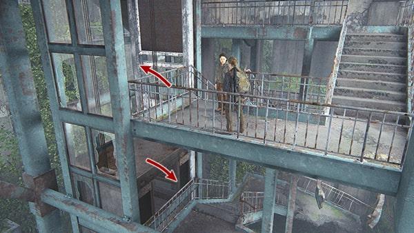 階段の降り方の攻略ルート